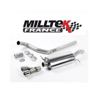 Descente de Turbo avec Cata Sport Hi-Flow - Montage obligatoire avec ligne Milltek | Échappements Milltek