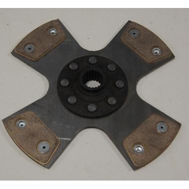 Disque Embrayage 4 patins rigide D215