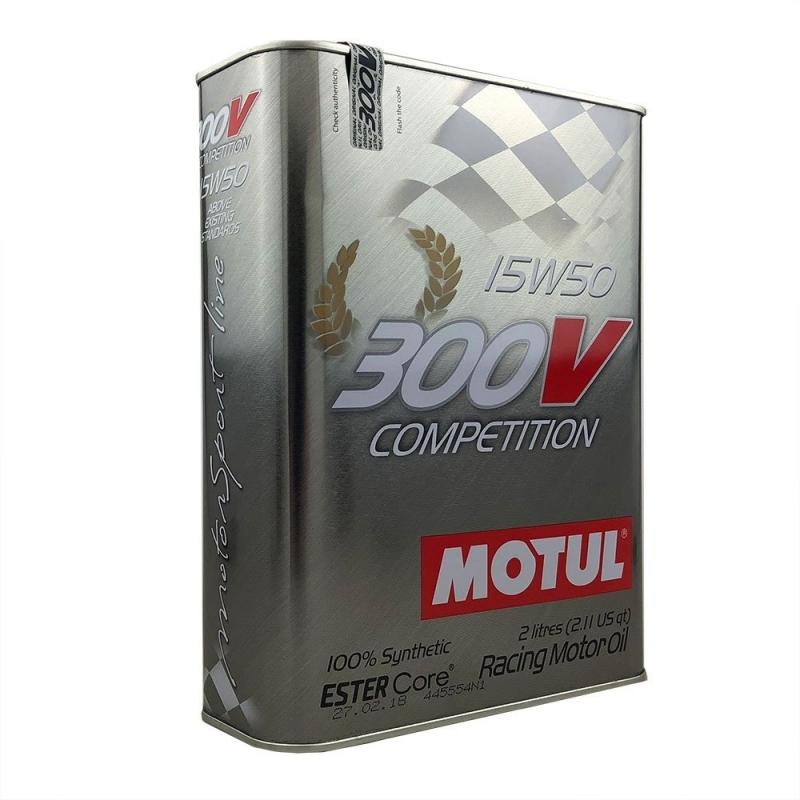 3b9ff159af2bf3 Bidon de 2L d huile Motul 300V Compétition 15W50